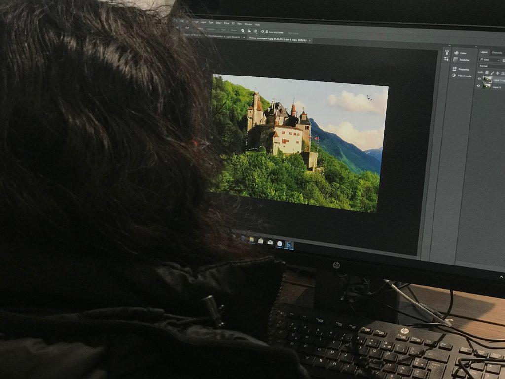 Le matte-painting avec Vue et Photoshop