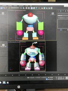 Modélisation 3D : le blocking