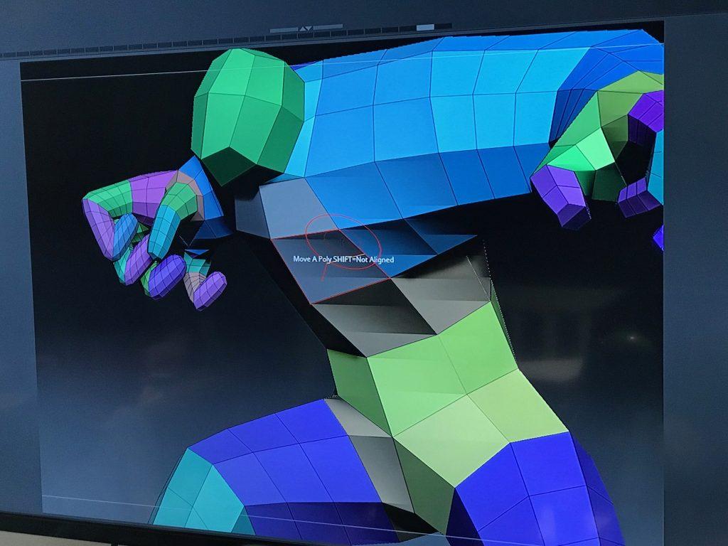 premiers maillages 3D sous Z-Brush