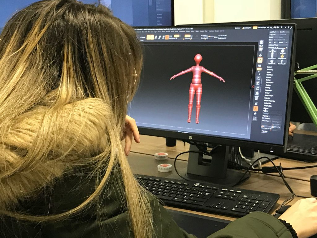 travail des poses et de la figure humaine sous Z-Brush
