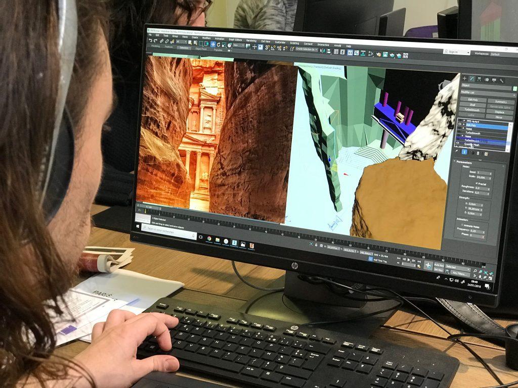 Techniques 2D et 3D pour la création de décors