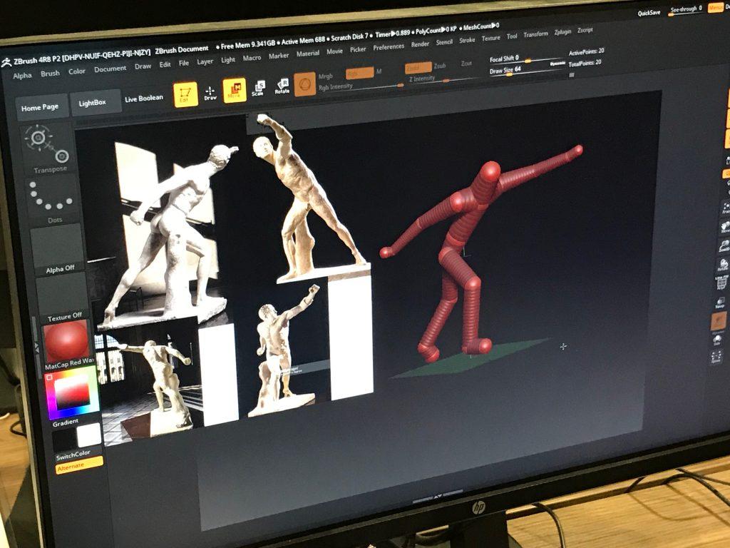 Modélisation 3D d'après référence