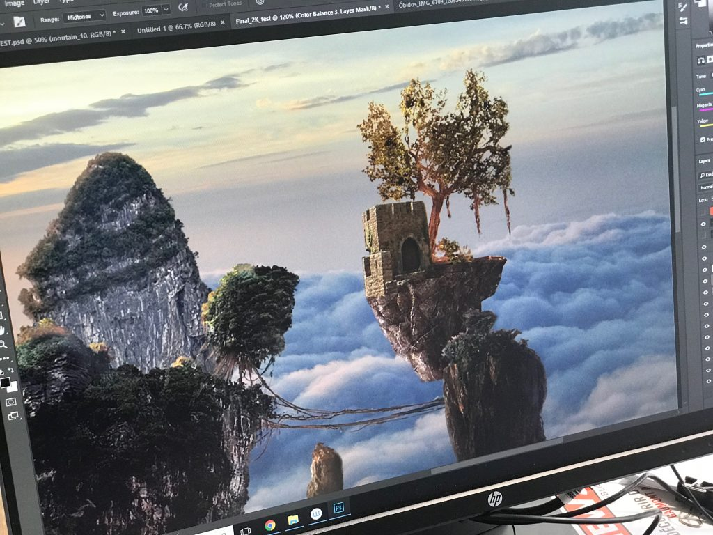 Masterclass Digital Matte-Painting : les composites s'enrichissent