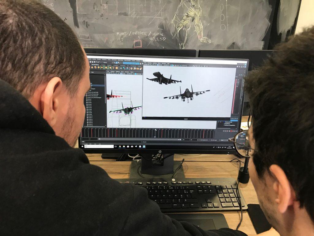 Animation : faire voler des avions